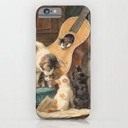 The Musicians iPhone Case