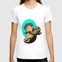 castiel T-shirts featuring Castiel by oh, wolves