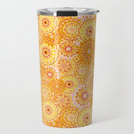 Mandala Sunshine Travel Mug