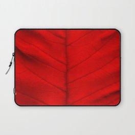 Poinsettia's leaf Laptop Sleeve