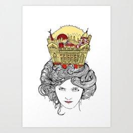 The Queen of Montreal Art Print
