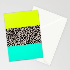 Leopard National Flag XI Stationery Cards