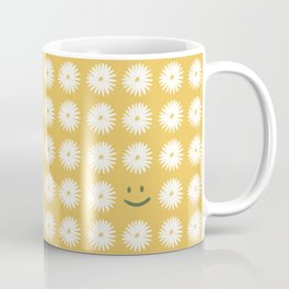 Smiley Daisy Coffee Mug