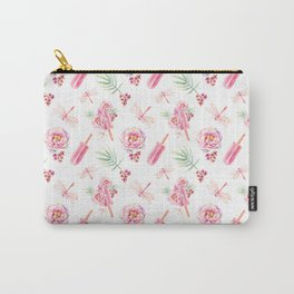 Hawaiian Dream Pop Pattern Carry-All Pouch