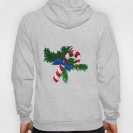 Christmas Candy Cane Hoody