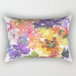 Sunny Bouquet Rectangular Pillow