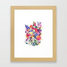 Flower Sprinkles Framed Art Print