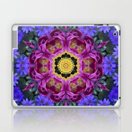 Floral finery - vivid kaleidoscope 20170321_135334 e k1 Laptop & iPad Skin