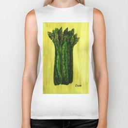 Asparagus Biker Tank