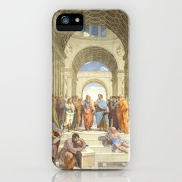The School of Athens, Raphael, 1511 iPhone Case