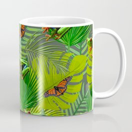 Frogs and Monarchs Coffee Mug