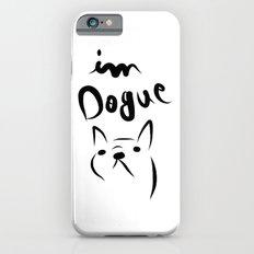dogue french bulldog iPhone 6s Slim Case