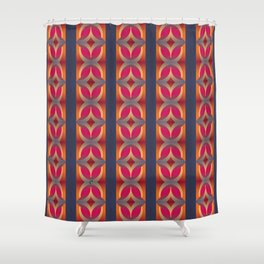 70's Geometric 1 Shower Curtain