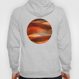 """Sea of sand and caramel waves"" Hoody"