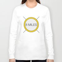 miles davis Long Sleeve T-shirts featuring 8 miles by Thomas Official
