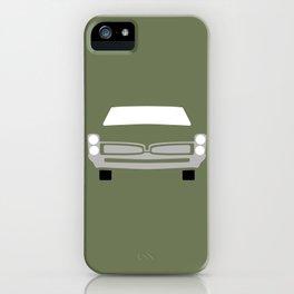 Pontiac GTO ( 1967 ) iPhone Case