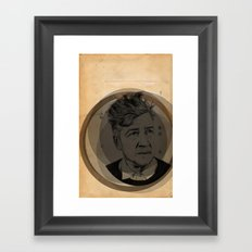 David Lynch Globe Framed Art Print