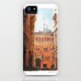 Italy in Yellow iPhone Case