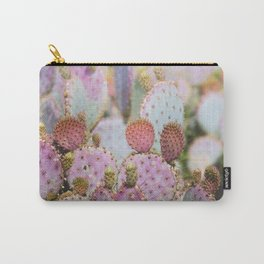 Cotton Candy Cacti Carry-All Pouch