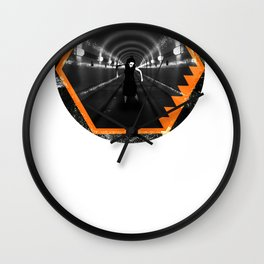 Trapped In Abstract Wall Clock