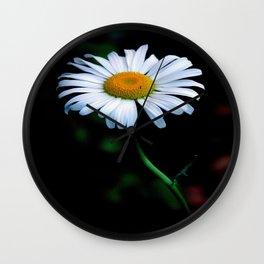 A daisy a day keeps the blues away Wall Clock