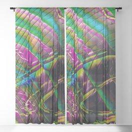 Planetary Sheer Curtain