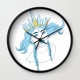 Royal Witch Wall Clock