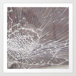 Texture #12 Glass Art Print