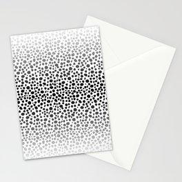 Small Random Dots Salmon Stationery Cards