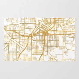ATLANTA GEORGIA CITY STREET MAP ART Rug