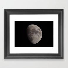 Moon 04 Framed Art Print