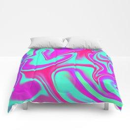 Mad Hatter Color Melt Tyedye Comforters