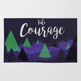 Take Courage Rug