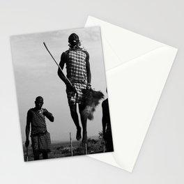 Warrior Dance pt. 2-The Hero; Nairobi, Kenya Stationery Cards