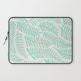 Fronds – Mint Green Palette Laptop Sleeve