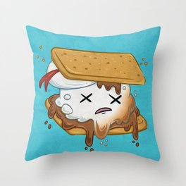 Spectral S'more Throw Pillow