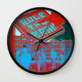 rule the brain Wall Clock