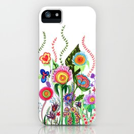 FLOWERS IN MEXICO iPhone Case
