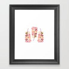 Leaf Trio Framed Art Print