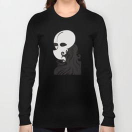 Face of a Stranger Long Sleeve T-shirt