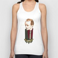 hannibal Tank Tops featuring Hannibal by Caeruls
