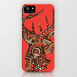 ROAD KILL ~ RED iPhone Case