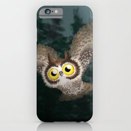 Great Horned Owl (Canavians Series) iPhone Case