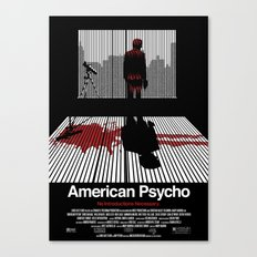 American Psycho - Poster Canvas Print