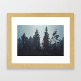 Leave In Silence Framed Art Print