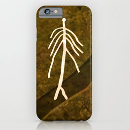 Ethnic 4 Canary Islands / Crowd in the Maze iPhone Case