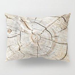 Wood Cut Pillow Sham