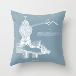 old print wine dictionary Throw Pillow