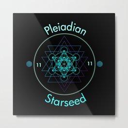 Pleiadian Starseed Ascension  Metal Print