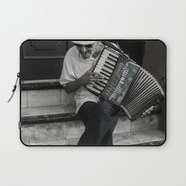 Music on the steps Laptop Sleeve